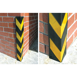 Reflective Corner Protectors - Protects your Properties Corners from Vehicle Damage