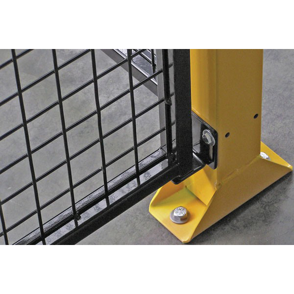 Single De-fence 1250mm High Safety Guarding System