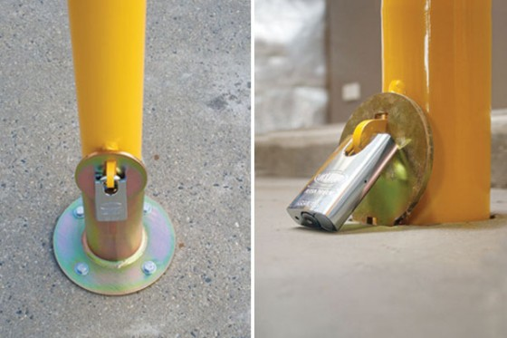 Sleeve Lok Removable Bollard Free Standing Model