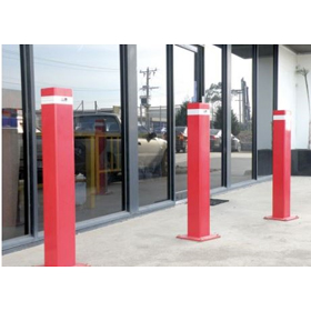 Fixed Square Bollard 90mm