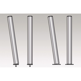 Medium Duty Shock Absorbing Stainless Steel Bollards