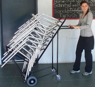 Chair Trolley Outrigger Style Chair Transport Truck