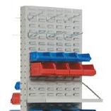Shelf, Hanging and Stackable Bins