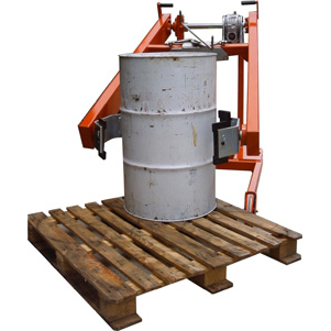 Grip Drum Tip Machine for Lifting & Tipping Drums