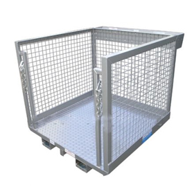 Work Platform Order Picking Cages Safety Cage for Forklifts