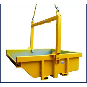 Bulk Waste Bin for use with overhead cranes BWB-50