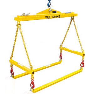 Ibc Container And Pallet Lifter Overhead Crane Attachment