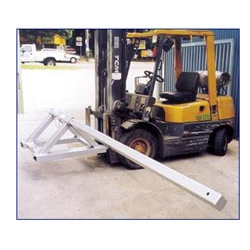 TS Tarp Spreader for Truck Tarps Mechanical Forklift Attachment