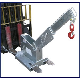2.5 Tonne Short Tilt Jib Attachment for Forklift TJCS25