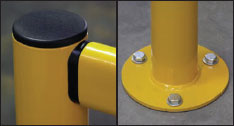 Econo-rail Flexible and Economical Pedestrian Control System