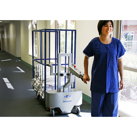 Power Assisted Hospitality Trolleys