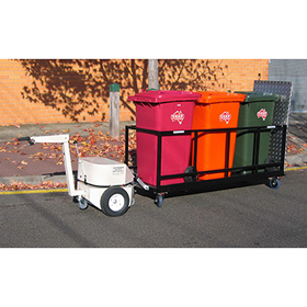 Wheelie Bin Carrier Trailer