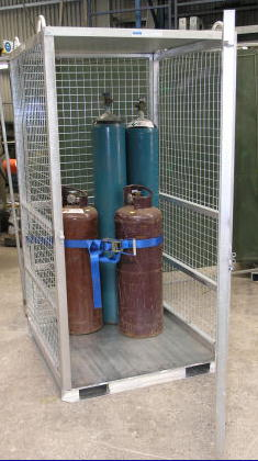 GB-CM Gas Cylinder Storage Cage for Cranes