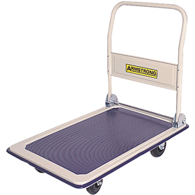 Armstrong Folding Handle Flat Bed Platform Trolleys