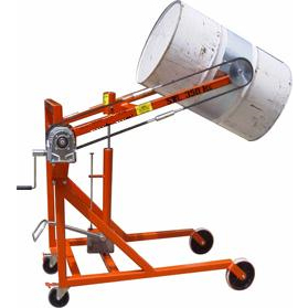 SG Model machine for lifting & tipping Drums