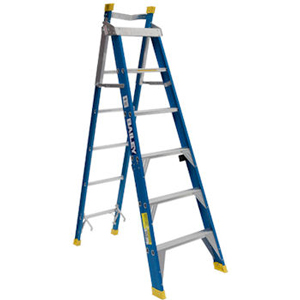 Bailey FSE Fibreglass Electro Safe Step Extension Ladder