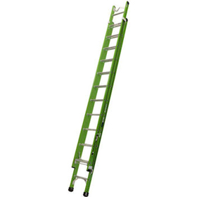 Bailey FSXN with pole support V Bracket Fibreglass Extension Ladders