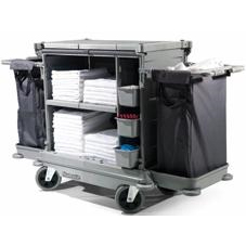 Numatic Low Line Flexi Front Housekeeping Trolley NKL-17FF