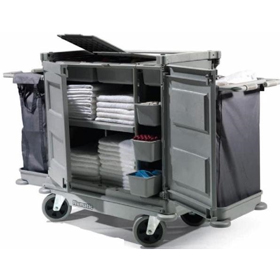 Numatic Low Line Hard Front Housekeeping Trolley NKL-17HF