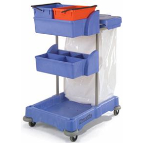 Numatic XC3 Janitor Cart - Xtra Systems Compact XC3