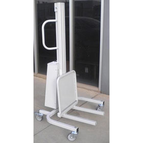 Medical Road Case Electric Lift Trolley