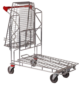Liquor- Cash n Carry Trolley Tilted
