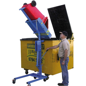 Litta Lifta 50kg Manual Hydraulic Wheelie Bin Lifter