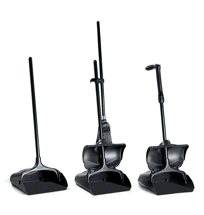 Rubbermaid Lobby Pro Deluxe Upright Dust Pans and Brooms
