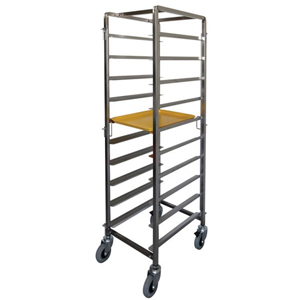 Stainless Steel Breakfast Tray Trolley