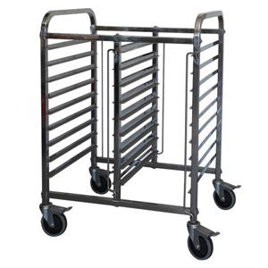 Mantova Half Height Gastronorm Trolley