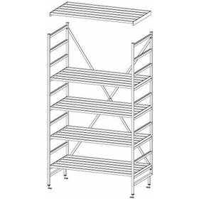 Mantova Heavy Duty Ladder Shelving