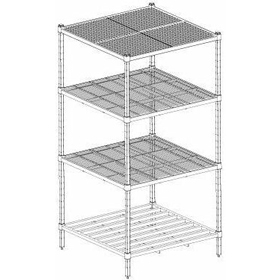 Mantova Heavy Duty Wideline Shelving