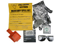 Mercury Absorbent Spill Control Pouch