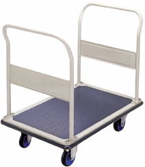 Prestar NF303 Double Push rail Platform Flat Bed Trolley 300kg capacity