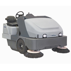 Nilfisk CR1400 Diesel or Petrol Combination Machine Ride on Sweeper