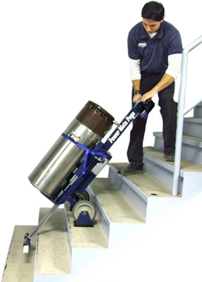 Powermate pogo p 2 stair climber for Motorized hand truck dolly