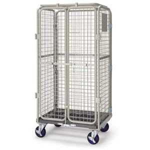 Prestar Worktainer Security Cage Trolley