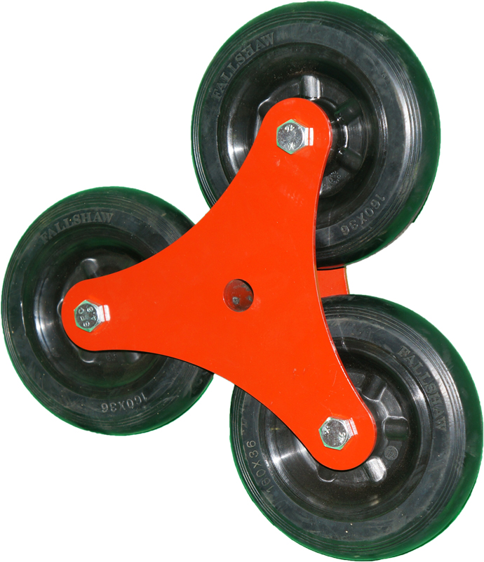 Stair Climber Wheels Assembly