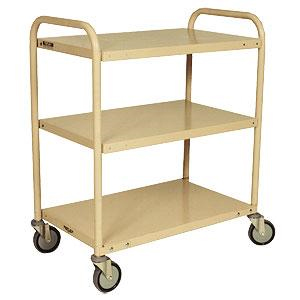 Trolley 3 Deck Traymobile - Bolt Together