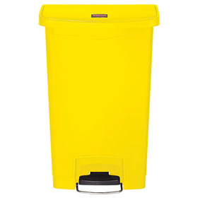 Rubbermaid 50L Resin Slim Jim Front Step-on Container