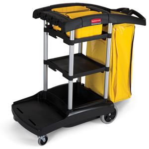 Rubbermaid 9T72 High Capacity Janitor Cart