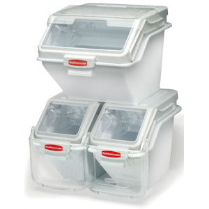 Rubbermaid ProSave Shelf Ingredient Bins