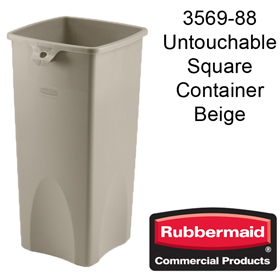Rubbermaid 3569 87.1 Litre Square Container