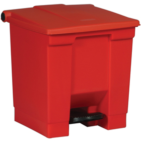 Rubbermaid 6143 Red Step on Container