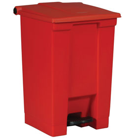 Rubbermaid 6144 red Step On Container