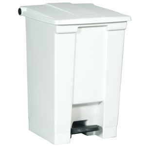 rubbermaid 6144 White Step On Container