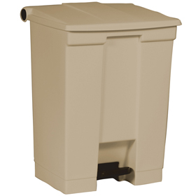 Rubbermaid 6145 Beige Step on Container