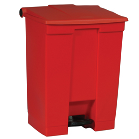Rubbermaid 6145 Red Step On Container