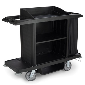 Powered 6189 Rubbermaid Housekeeping Trolley