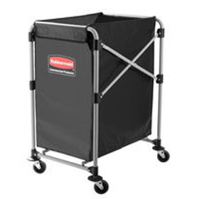 Rubbermaid Collapsing 150L X-Cart Laundry Trolley